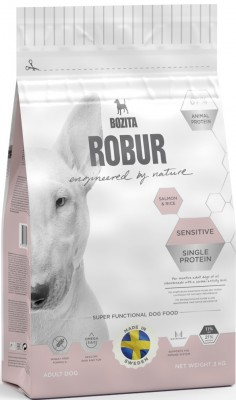 Bozita Robur Sensitive Single Protein Salmon & Rice 21/11