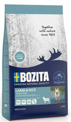 Bozita Wheat Free (bez pšenice) Lamb & Rice 23/12