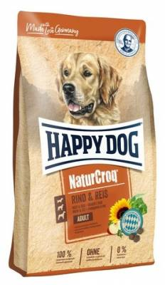 Happy Dog NaturCroq 22/9 RIND & REIS