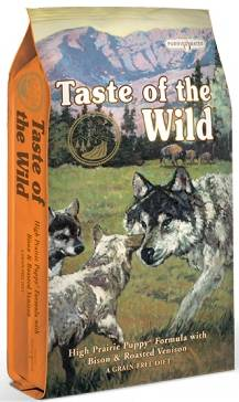 Taste of the Wild High Praire Puppy 28/17
